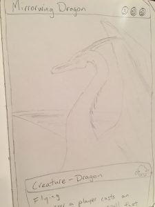 Finding some magic: Drawing Dragons Day 22