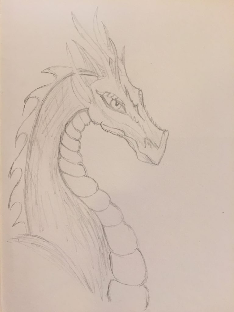 Making meaning: Drawing Dragons Day 57