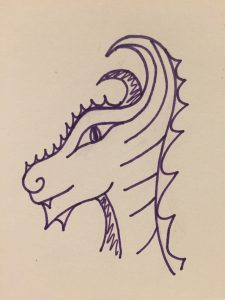 Drawing Dragons Day 62