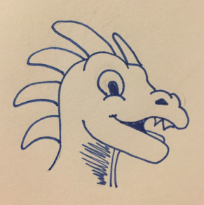Smile: Drawing Dragons Day 61