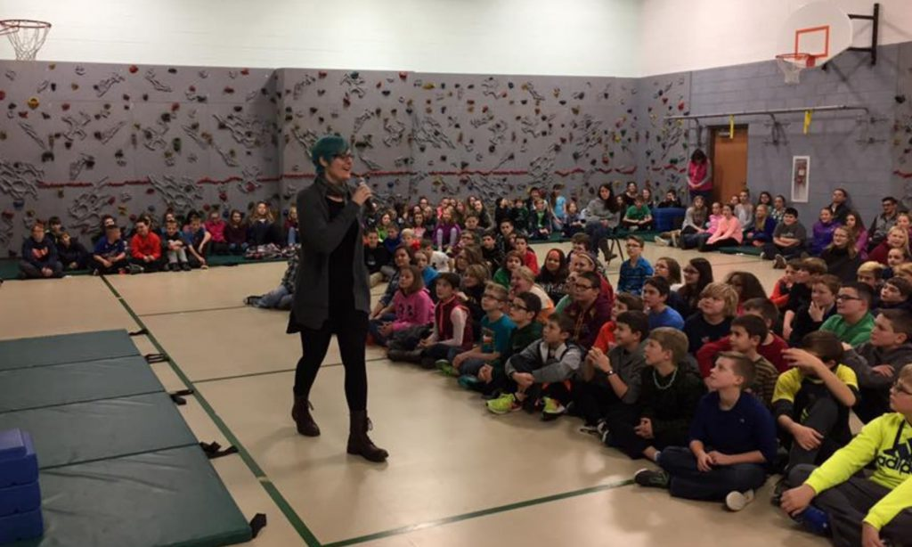 About Kate Ristau speaking to kids