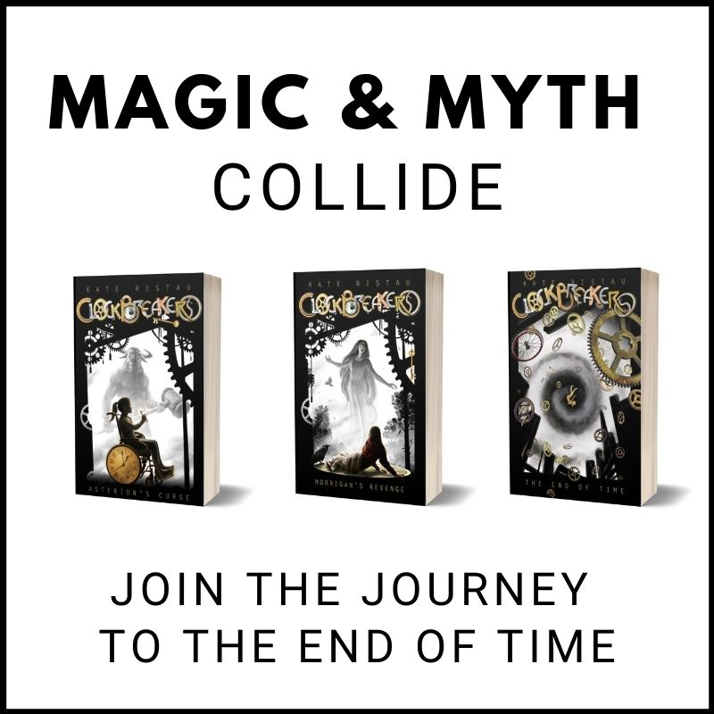 Clockbreakers Magic and Myth collide, join the journey to the end of time